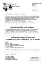 Klik hier voor de uitnodiging - Nederlandse Melkveehouders Vakbond
