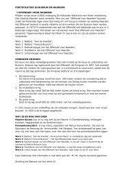 FORTIFICATIES IN BUSSUM EN NAARDEN `t ... - Fort Werk IV
