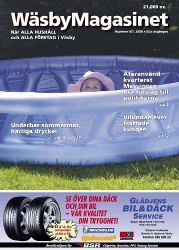 Väsbyjournalen nr 6/7, 2008