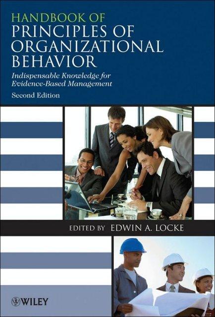 Handbook of Principles of Organizational Behavior - Soltanieh ...