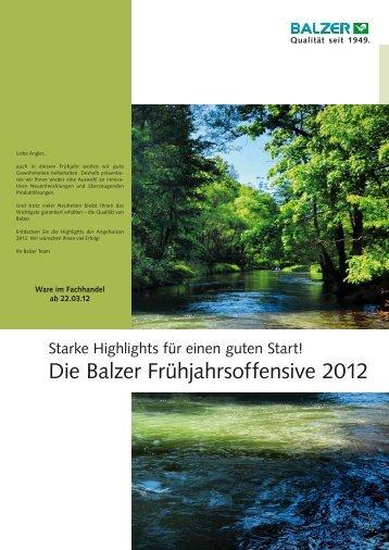 Die Balzer Frühjahrsoffensive 2012
