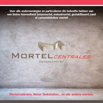 Mortelcentrale folder gebruiker - Mortelcentrales