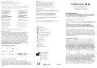 STREP A (II) TEST - ANL Produkter AB