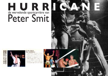 """""""Hurricane: de wervelende sportcarrière van Peter Smit"""" in pdf formaat."""