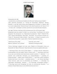 Vita als pdf zum Downloaden. - Thomas Darchinger