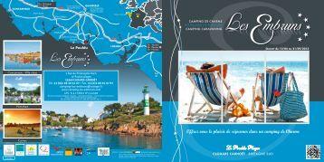 Brochure du camping - Camping Les Embruns