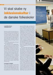Vi skal skabe ny inklusionskultur i de danske folkeskoler - ADHD ...