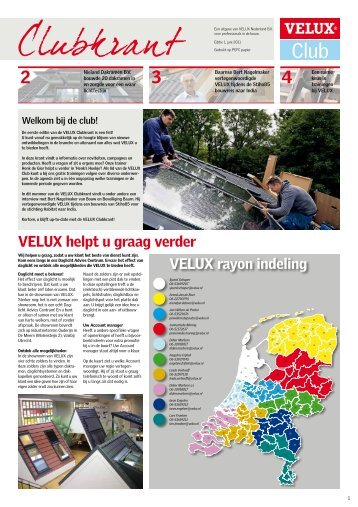 VELUX Clubkrant - editie 1 - 2011