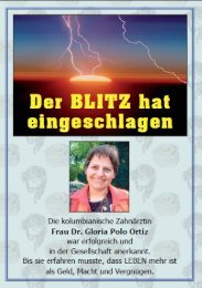 Blitz erschlagen - Dra. Gloria Constanza Polo