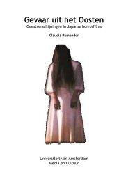 BA scriptie Media en Cultuur, pdf - Claudia Rumondor