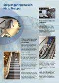 Steg- och Palettrengöring Rulltrappor och rullband - Page 2