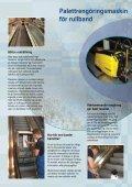 Steg- och Palettrengöring Rulltrappor och rullband - Page 3