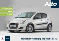 Duurzaam en voordelig op weg vanaf € 2.519,- - Suzuki