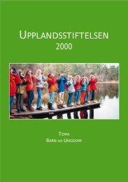 2000 Tema Barn och ungdom - Upplandsstiftelsen