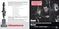 brochure Vlaamse Cultuurprijzen 2010-2011 - Muziek (PDF, 2,35 MB)