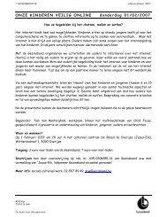 Afdrukbare PDF versie (267 Kb) - Gezinsbond Zemst - Zemst en Laar