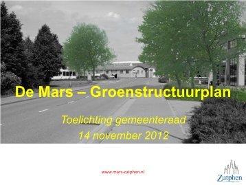De Mars Groenstructuurplan.pdf - Raad Zutphen