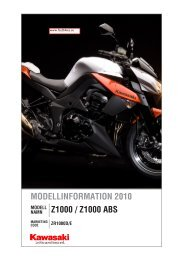 teknisk information om kawasaki z1000 2010 (pdf) - Fastbikes.se