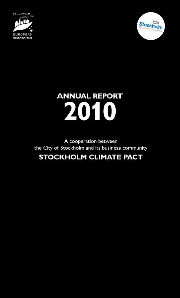 Stockholm climate pact - Compass Group