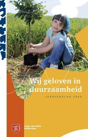 Jaarverslag 2009.pdf - Leger des Heils