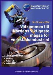 Välkommen till Nordens viktigaste mässa för verkstadsindustrin!