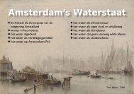 Amsterdam's Waterstaat - theobakker.net