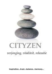Bekijk onze catalogus hier - Cityzen