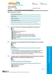 ARBO checklist techniek en productie - Aldiver