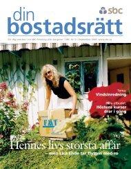 SBC Din Bostr−tt 3/03 - Bostadsrätterna
