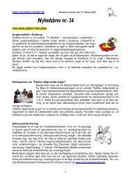 Nyhedsbrev nr. 14 - Skoleporten Nørreskov-Skolen