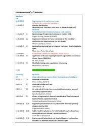 ESGLI Study group 5th – 7th September Wendsday 5th 13:00 ... - IRIS