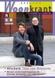 • Afscheid Theo van Driessche - R&B Wonen