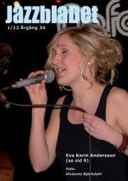 Jazzbladet nr 1/12 - Classic Jazz Göteborg