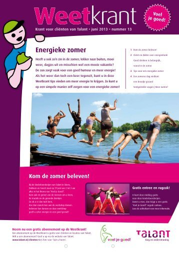 Energieke zomer - Talant