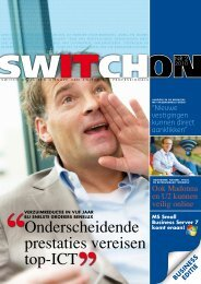 Onderscheidende prestaties vereisen top-ICT - Switch