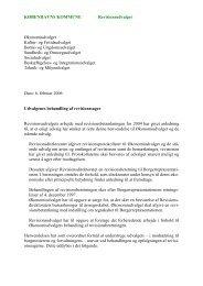 Bilag 1 Brev af 6 feb 2006 fra Revisionsudvalget - Københavns ...