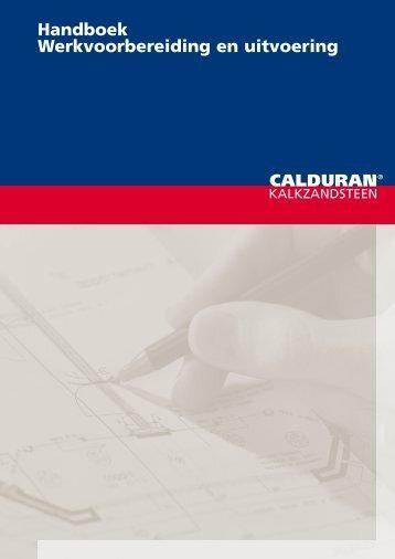 Handboek Werkvoorbereiding en uitvoering - Calduran ...