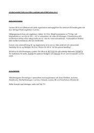 Verksamhetsplan 2012 - Larsmo 4H - Finlands Svenska 4H