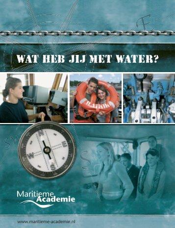 Brochure Maritieme Academie - Dunamare