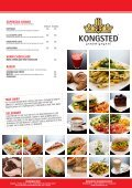 sandwich husets salat salatbar tilbehør burgere nachos børnemenu ... - Page 2