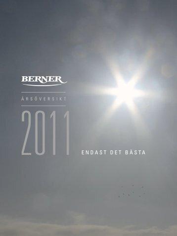 ENDAST DET BÄSTA - Berner Oy