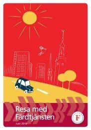 Resa med Färdtjänsten - Färdtjänsten - Stockholms läns landsting