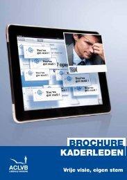 Brochure kaderleden 2012 - Aclvb