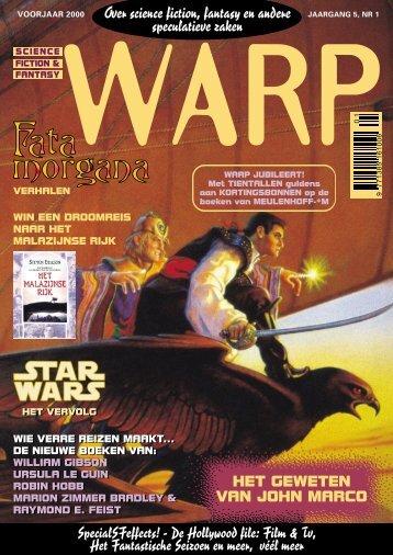 Warp voorjaar 2000 - Mynx, voor de avontuurlijke lezer