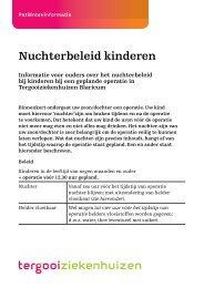 Nuchterbeleid kinderen [48kb] Kindergeneeskunde - Tergooi