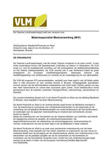 VLAAMSE LANDMAATSCHAPPIJ - Jobpunt Vlaanderen