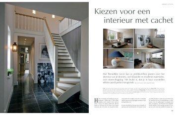 Kiezen voor een interieur met cachet - Binnenhuisarchitectuur ...