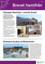 B h 2013 - nr 1.pdf - Gnosjö kommun
