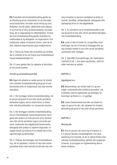 Årsberetning 2010 - Ligebehandlingsnævnet