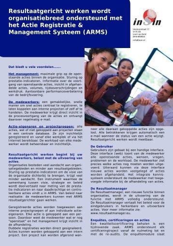 Resultaatgericht werken wordt organisatiebreed ondersteund met ...